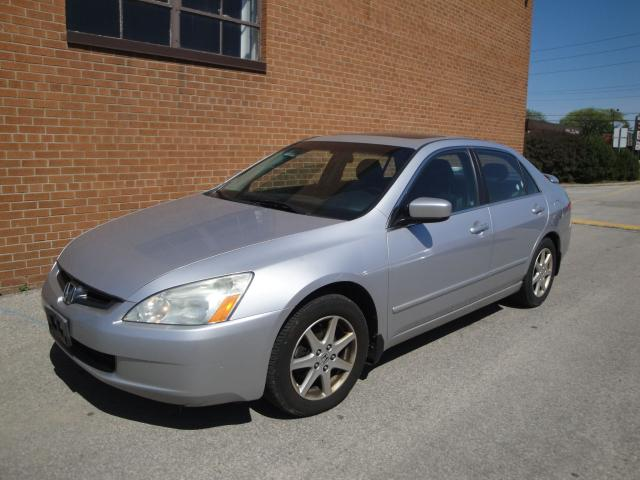 2004 Honda Accord EXL, V6, Leather, Sunroof, Alloys