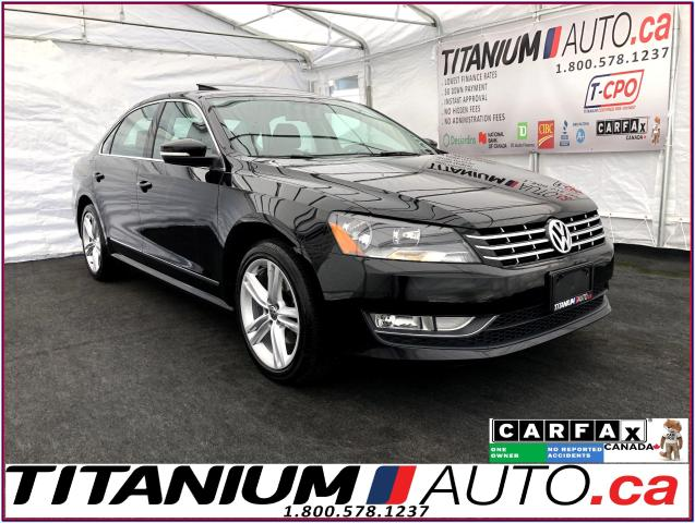 2015 Volkswagen Passat HIGHLINE+GPS+Camera+Sunroof+Leather Heated Memory+