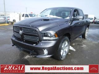Used 2017 RAM 1500 Sport Crew Cab SWB 4WD for sale in Calgary, AB