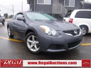 Used 2013 Nissan Altima 2D Coupe for sale in Calgary, AB