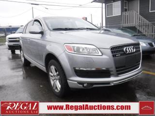 Used 2007 Audi Q7 Base 4D Utility AWD 4.2 for sale in Calgary, AB