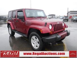 Used 2012 Jeep Wrangler Unlimited Sahara 4D Utility 4WD for sale in Calgary, AB