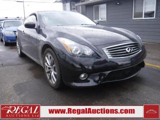 Used 2012 Infiniti G37XS  2D COUPE AWD for sale in Calgary, AB