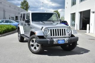 Used 2016 Jeep Wrangler Unlimited Sahara for sale in Burnaby, BC