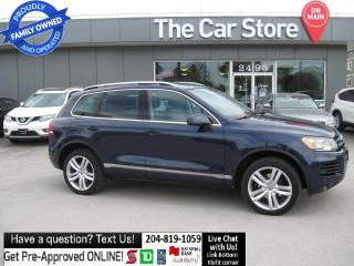 Used 2011 Volkswagen Touareg TDI Execline NAVI backcam LEATHER 7700lbs towing!! for sale in Winnipeg, MB