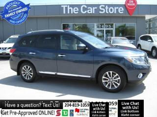 Used 2015 Nissan Pathfinder SL NAVIGATION leather htd seat SUNROOF - LOCAL CAR for sale in Winnipeg, MB