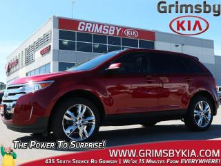 Used 2014 Ford Edge SEL| Leather| Sunroof| Navi| Bluetooth| Low KMS! for sale in Grimsby, ON