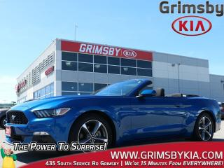 Used 2017 Ford Mustang V6| Convertible| RWD| 1 Owner| Backup Cam for sale in Grimsby, ON