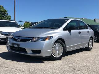 Used 2010 Honda Civic DX-G, amazing shape and mileage for sale in Toronto, ON
