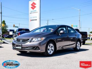 Used 2013 Honda Civic LX for sale in Barrie, ON