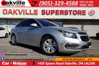 Used 2015 Chevrolet Cruze LT 1LT | ONSTAR | BLUETOOTH | B/U CAM | MYLINK for sale in Oakville, ON