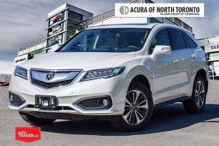 Used 2017 Acura RDX Elite at No Accident| Remote Start| Blind Spot for sale in Thornhill, ON