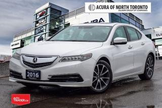 Used 2016 Acura TLX 3.5L SH-AWD w/Tech Pkg No Accident| Remote Start for sale in Thornhill, ON