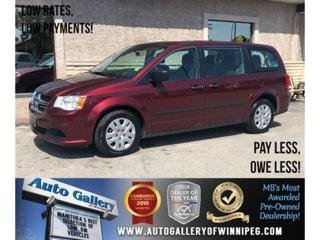 Used 2017 Dodge Grand Caravan CVP *7Pass for sale in Winnipeg, MB