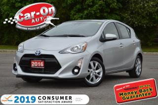 Used 2016 Toyota Prius c Technology Hybrid NAV SUNROOF 13,000 KM LOADED for sale in Ottawa, ON