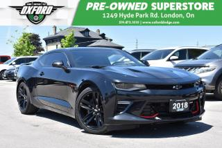 Used 2018 Chevrolet Camaro 2SS - One Owner, Like New, Sunroof, UConnect/Bluet for sale in London, ON
