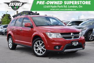 Used 2018 Dodge Journey GT - Low Kms, AWD, Well Equipped for sale in London, ON