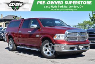 Used 2014 RAM 1500 Laramie - One Owner, Leer Topper, Sunroof, UConnec for sale in London, ON