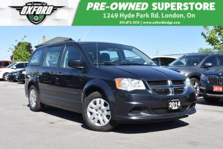 Used 2014 Dodge Grand Caravan SE/SXT - FWD, One Owner, Roof Rack for sale in London, ON