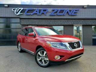 Used 2014 Nissan Pathfinder Platinum Dual DVD Loaded for sale in Calgary, AB