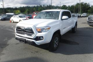 Used 2019 Toyota Tacoma SR5 Double Cab Short Bed V6 6AT 4WD for sale in Burnaby, BC