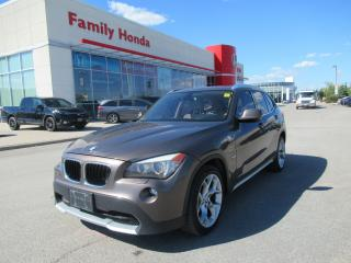 Used 2012 BMW X1 xDrive28i (A8), NAVIGATION, SUNROOF/MOONROOF for sale in Brampton, ON