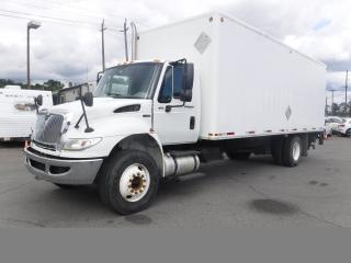 Used 2012 International 4300 Dura Star Cube Van 24 Foot Diesel with Power Tailgate Air Brakes for sale in Burnaby, BC
