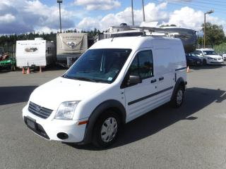 Used 2011 Ford Transit Connect XLT with Ladder Rack and Bulkhead Divider for sale in Burnaby, BC