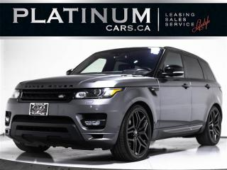 Used 2016 Land Rover Range Rover Sport HST LE SUPERCHARGED AWD, AUTOBIOGRAPHY, NAV, PANO for sale in Toronto, ON