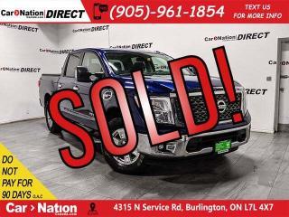 Used 2017 Nissan Titan SV  4X4  NAVI  TONNEAU COVER  for sale in Burlington, ON