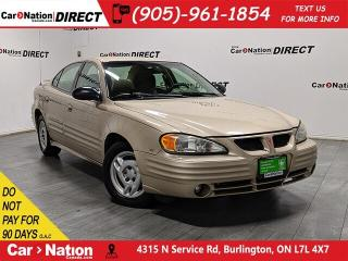 Used 2002 Pontiac Grand Am | AS-TRADED| ONE PRICE INTEGRITY| for sale in Burlington, ON