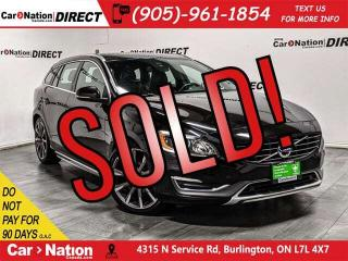 Used 2015 Volvo V60 T5 Premier Plus| AWD| LOW KM'S| SUNROOF| for sale in Burlington, ON