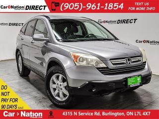 Used 2007 Honda CR-V EX-L| 4X4| AS-TRADED| LEATHER| SUNROOF| for sale in Burlington, ON