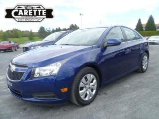 Used 2013 Chevrolet Cruze LT for sale in East broughton, QC