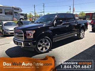 Used 2017 Ford F-150 Ltd, Cuir, Toit for sale in Sherbrooke, QC