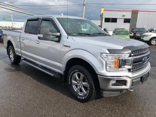 Used 2018 Ford F-150 XLT cabine SuperCrew 4RM caisse de 6,5 p for sale in Beauport, QC