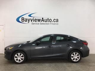 Used 2015 Mazda MAZDA3 GX - AUTO! BLUETOOTH! A/C! PWR GROUP! for sale in Belleville, ON