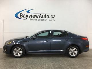 Used 2015 Kia Optima LX - HTD SEATS! ALLOYS! + MORE! for sale in Belleville, ON