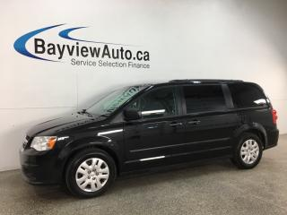 Used 2017 Dodge Grand Caravan CVP/SXT - STOW 'N GO! DUAL A/C! FULL PWR GROUP! 65,000KMS! for sale in Belleville, ON