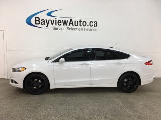 Used 2016 Ford Fusion SE - 57,000KMS! BLACK WHEELS! BIG SCREEN + MORE! for sale in Belleville, ON