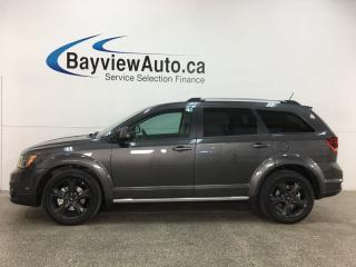 Used 2018 Dodge Journey Crossroad - 7 PASS! NAV! SUNROOF! DVD! 3 ZONE CLIMATE! for sale in Belleville, ON