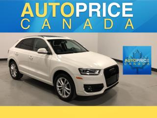 Used 2015 Audi Q3 2.0T Technik PANOROOF|LEATHER for sale in Mississauga, ON