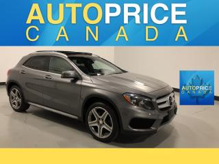 Used 2015 Mercedes-Benz GLA NAVIGATION|PANOROOF|LEATHER for sale in Mississauga, ON