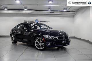 Used 2015 BMW 428i xDrive Gran Coupe -1OWNER NO ACCIDENTS  PREM PKG  for sale in Newmarket, ON
