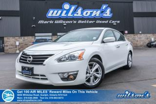Used 2014 Nissan Altima 2.5 SV - Sunroof, Rear Camera, Bluetooth, Alloys, Cruise Control and more! for sale in Guelph, ON