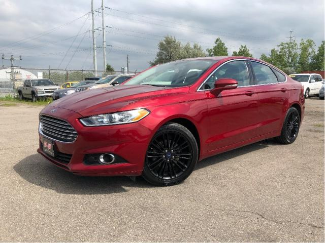 2016 Ford Fusion SE| Leather| Sunroof| Navigation| SYNC|
