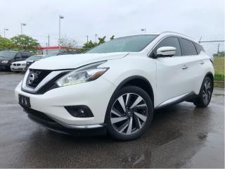 Used 2016 Nissan Murano Platinum| Sunroof| AWD| Navigation| Leather| for sale in St Catharines, ON