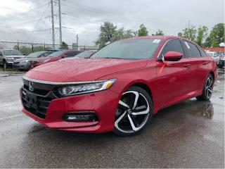 Used 2018 Honda Accord STK| Leather| Roof| Adap CC| Lane Depature| for sale in St Catharines, ON