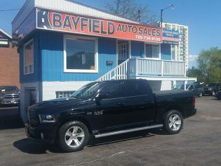 Used 2013 RAM 1500 Sport Crew Cab 4x4 **Leather/Sunroof/Navigation** for sale in Barrie, ON