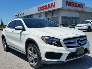 Used 2016 Mercedes-Benz GLA 250 GLA 250 AWD TURBO w/all leather,power folding mirrors,heated seats,rear cam,climate control for sale in Cambridge, ON